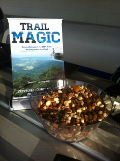 Trail Magic Mix at Book Launch