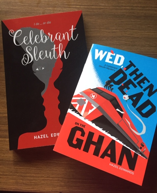 Both 'Celebrant Sleuth' covers