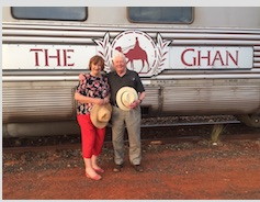 'The Ghan' Research for sequel to 'Celebrant Sleuth'