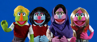 Hijabi Girl Puppet Cast