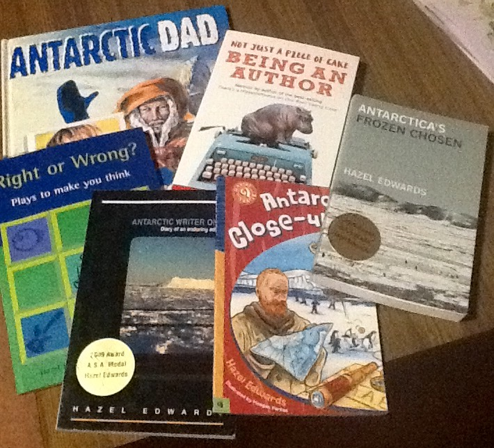 Hazel's Antarctic Book Covers